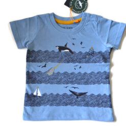 Blue Seven - jongens T-shirt - blauw - Eileen4Kids