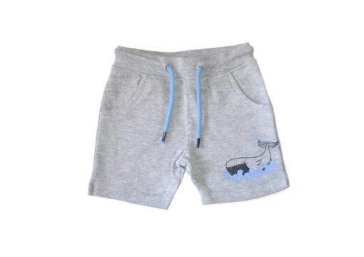 Blue Seven - jongens korte broek - grijs - Eileen4Kids