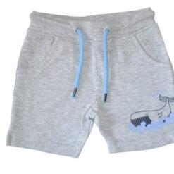 Blue Seven - jongens korte broek - grijs