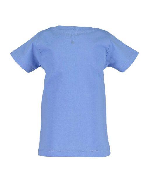 Blue Seven - newborn jongens T-shirt - blauw - Eileen4Kids