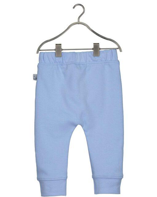 Blue Seven - newborn jongens broek - effen blauw