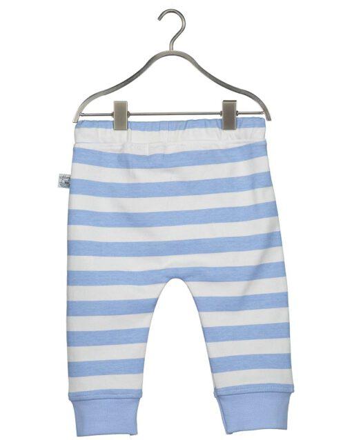 Blue Seven - newborn jongens broek - gestreept blauw - Eileen4Kids