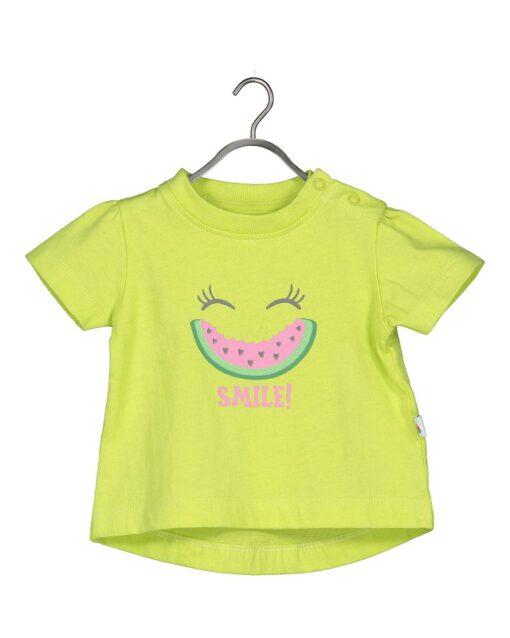 Blue Seven - newborn meisjes shirt - mint
