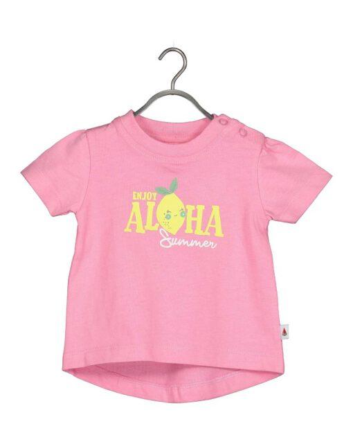 Blue Seven - newborn meisjes shirt - roze - Eileen4Kids