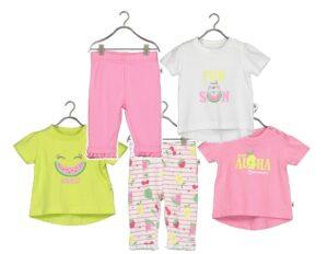 Blue Seven - newborn meisjes zomer broek en shirts - Eileen4Kids