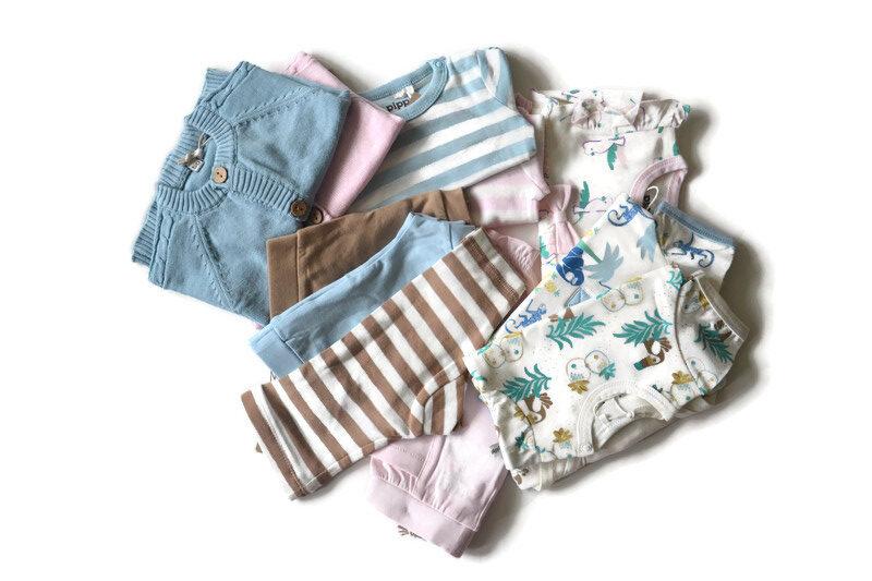 Pippi newborn - setjes van biologisch katoen - Eileen4Kids