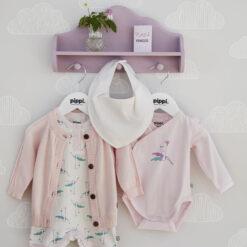 Pippi - vest -romper - slab - roze - Eileen4Kids