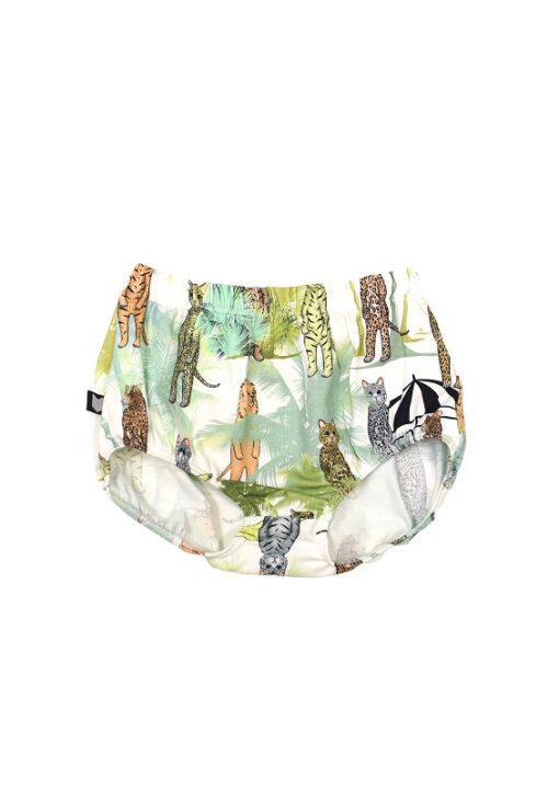 HEBE - baby korte broek - dierenprint - Eileen4Kids