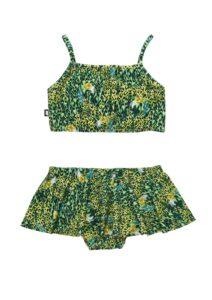HEBE - bikini met rokje - groen - Eileen4Kids