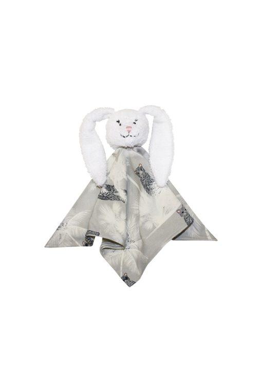 HEBE - knuffeldier - konijn - grijs
