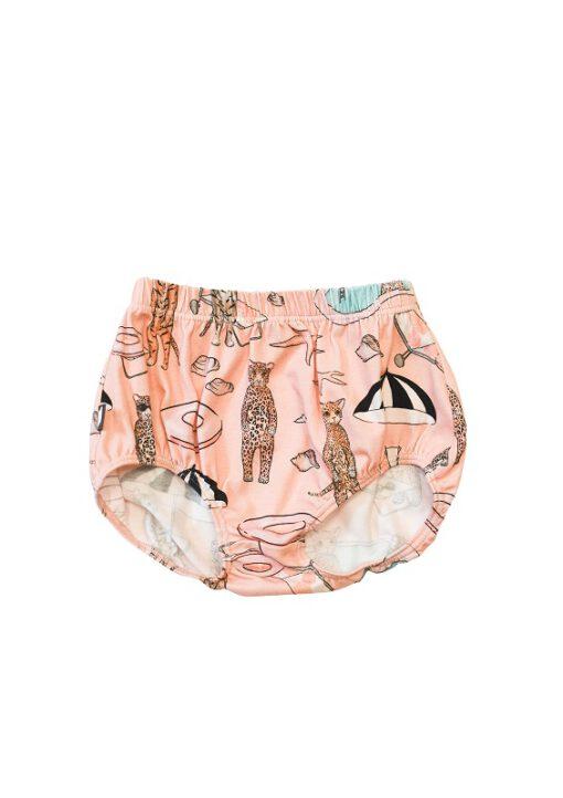 HEBE - korte broek - pool print - roze - Eileen4Kids