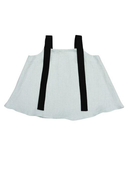 HEBE - linnen top - mint - Eileen4Kids