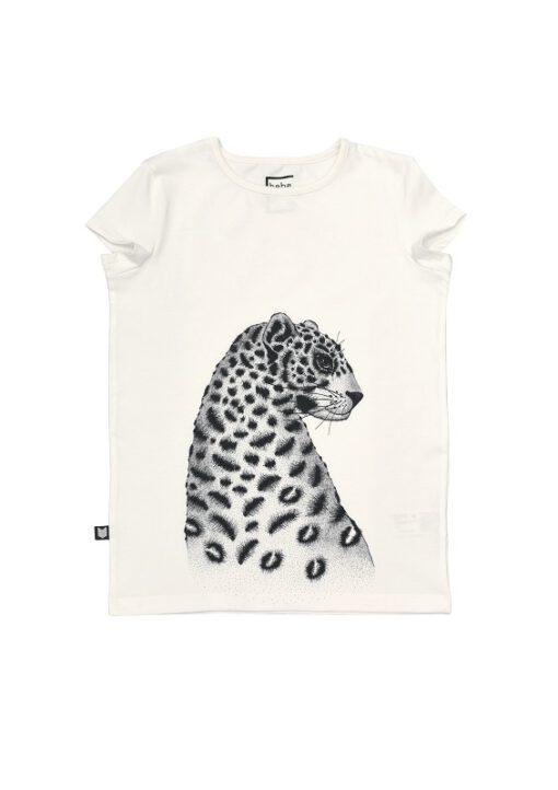 HEBE - t-shirt - luipaard - kapmouwtjes - Eileen4Kids