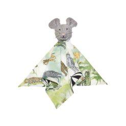 Hebe - knuffeldoekje - muis - grijs - Eileen4Kids