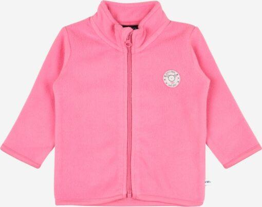 Blue Seven - newborn fleecevest roze - Eileen4Kids