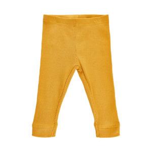 Me Too - baby broek - rib - geel - Eileen4Kids