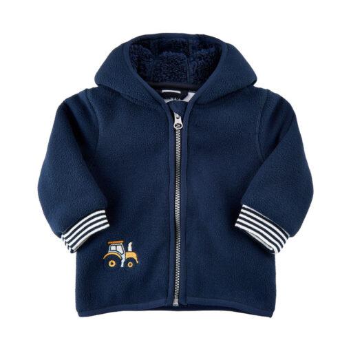 Me Too - baby fleece vest - blauw - Eileen4Kids