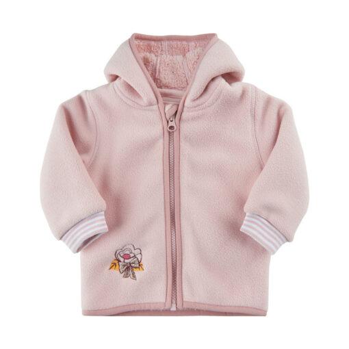 Me Too - baby fleece vest - roze - Eileen4Kids