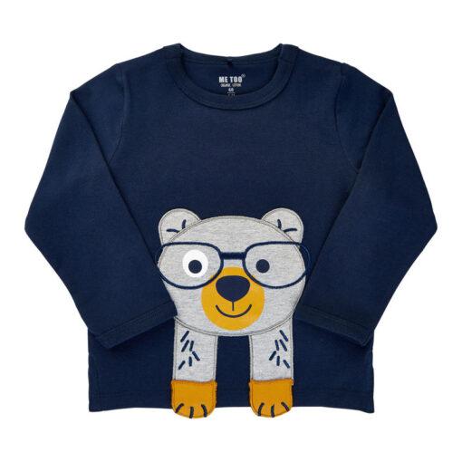 Me Too - baby jongens shirt - lange mouwen - Eileen4Kids