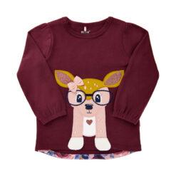 Me Too - baby shirt - lange mouwen - tawny - Eileen4Kids