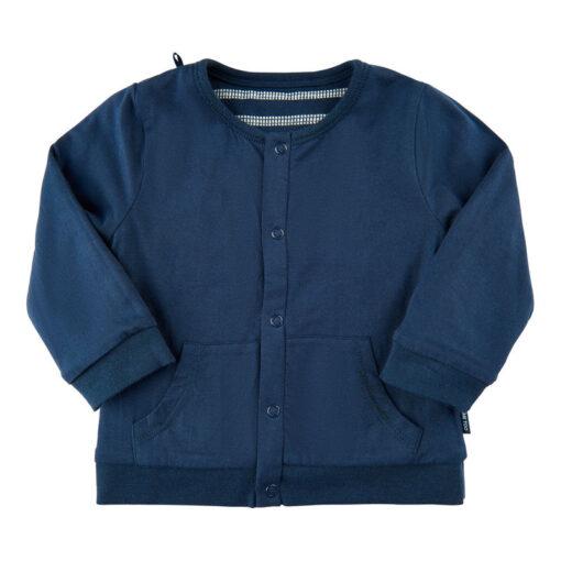 Me Too - baby vest - reversable - effen - blauw - Eileen4Kids
