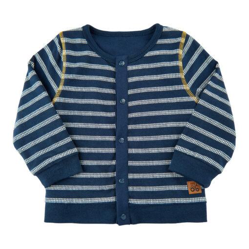 Me Too - baby vest - reversable - gestreept - blauw - Eileen4Kids