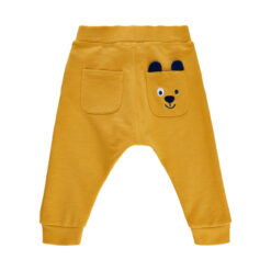 Me Too - baggy baby sweat pants - geel - Eileen4Kids
