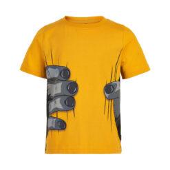 Me Too - jongens shirt - korte mouwen - golden glow - Eileen4Kids