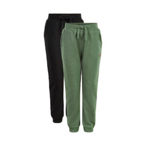 Me Too - jongens sweat pants - 2-pack - olijf/blauw - Eileen4Kids