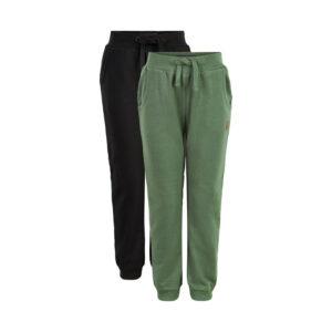 Me Too - jongens sweat pants - 2-pack - olijf/blauw - Eileen4Kids