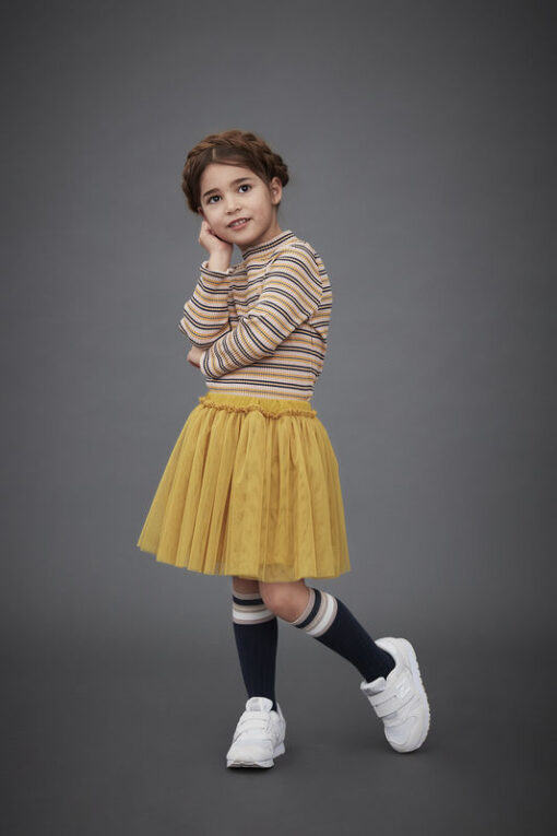 Me Too - shirt + tule rok - golden glow - Eileen4Kids
