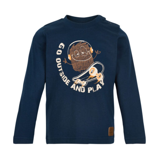 Minymo - jongens shirt - lange mouwen - Eileen4Kids