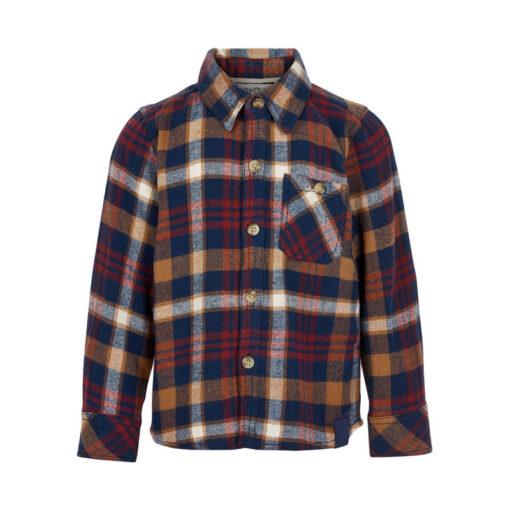 Minymo - jongens shirt - geruit - Eileen4Kids