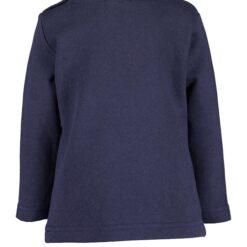 Blue Seven - kerst shirt blauw - Eileen4Kids