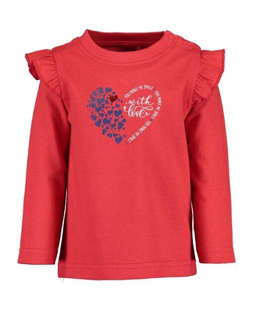 Blue Seven rood meisjes shirt - Eileen4Kids