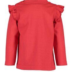 Blue Seven rood shirt lange mouwen - Eileen4Kids