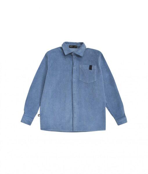 HEBE - shirt - corduroy licht blauw - Eileen4Kids
