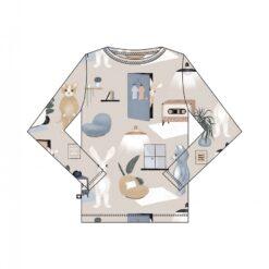 HEBE - shirt - sweet home - beige - Eileen4Kids