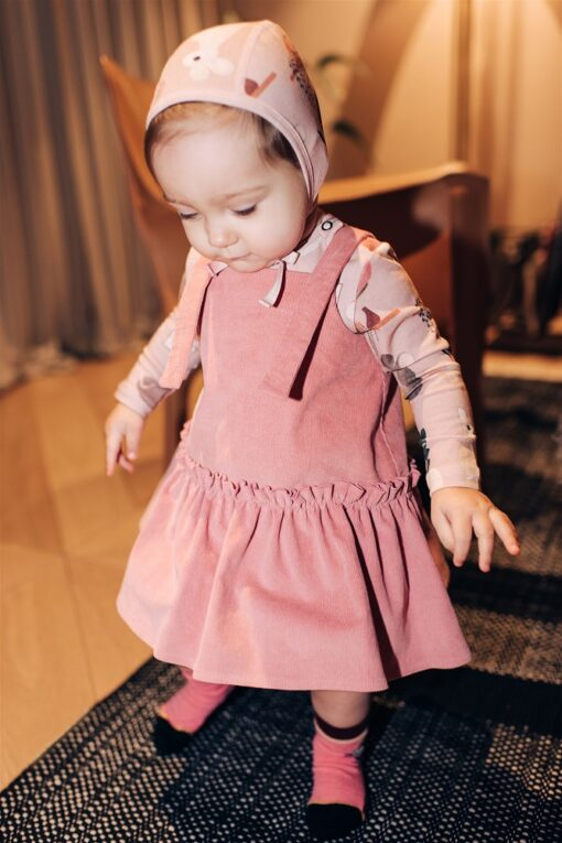 HEBE - sokken - muis - roze - Eileen4Kids