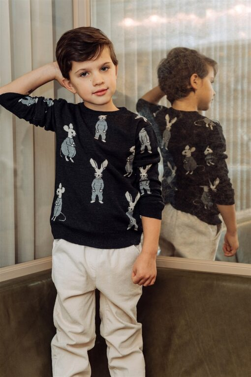 HEBE - sweater merino wool - Eileen4Kids