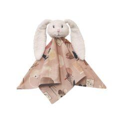 Hebe - knuffeldoekje - konijn - roze - Eileen4Kids