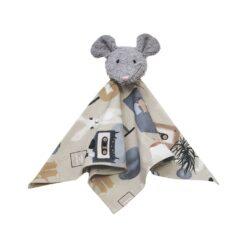 HEBE - knuffeldoekje - konijn - grijs