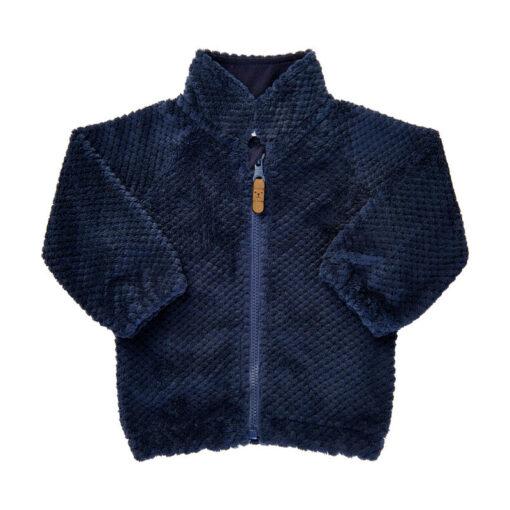 Minymo - baby vest - effen blauw - Eileen4Kids