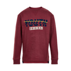 Minymo - jongens sweater - bordeaux - Eileen4Kids