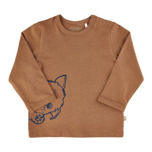 Minymo - newborn shirt - hond - Eileen4Kids