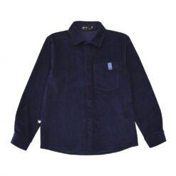 HEBE - Vest corduroy blue - Eileen4Kids