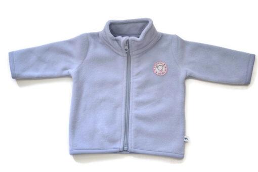 Blue Seven - newborn meisjes fleece vest - blauw - Eileen4Kids