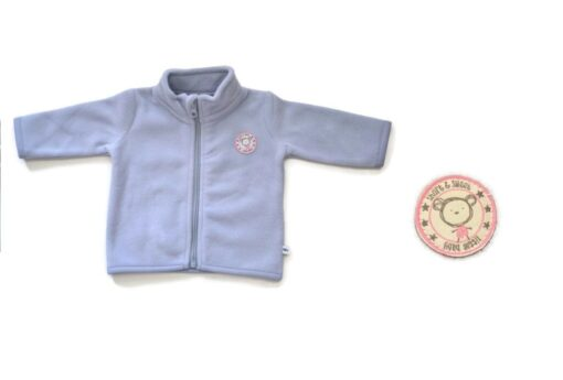 Blue Seven - meisjes fleece vest - newborn - Eileen4Kids