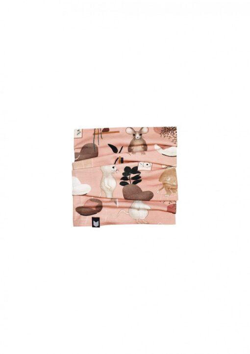 HEBE - kinder colsjaal - roze - Eileen4Kids