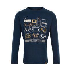 Minymo - jongens shirt - lange mouwen - game - Eileen4Kids